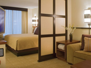 Guest Room at Hyatt Place Charlotte Airport/Lake Pointe