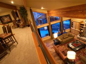 Vacation Home Interior at Utah Vacation Homes