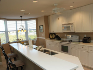 Vacation rental kitchen at Lahaina Island Accommodations.