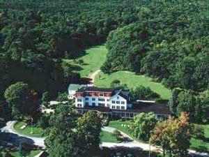 Aerial view of Winter Clove Inn.