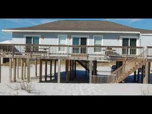 Rental exterior at Pensacola Beach Vacation Rentals & Sales.