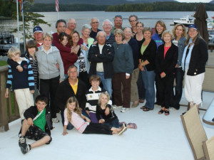 Family reunion at Shearwater Resort & Marina.