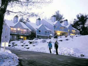 Skiing at Mountainside Resort at Stowe.