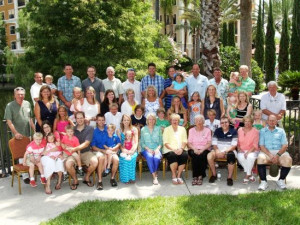Family reunion at Floridays Resort Orlando.