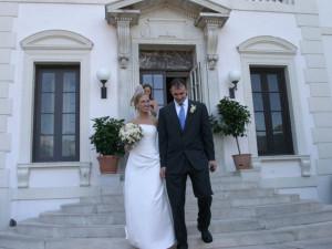 Beautiful wedding settings at Geneva on the Lake.