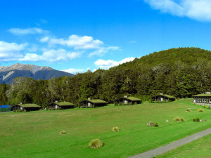 Exterior view of Takaro Lodge.