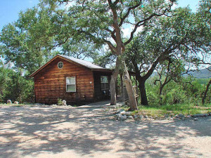 Cabin Exterior at Hill Country Resort