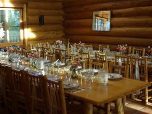 Main Lodge Wedding at Three Bars Ranch