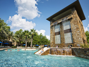 Outdoor pool at The Woodlands Resort and Conference Center.