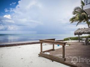 The beach at iTrip - Islamorada.