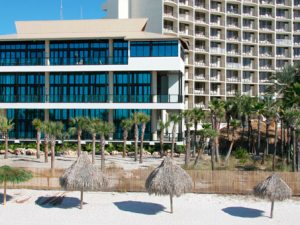 Exterior view of Holiday Inn Resort.
