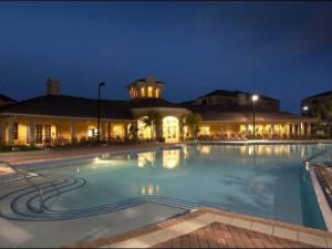 Pool view at Vista Cay Resort.