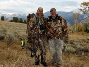 Hunting at Montana High Country Lodge.