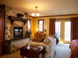 Luxury rooms at Glenlaurel Inn.