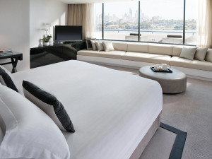 Guest room at Burswood International Resort Casino.