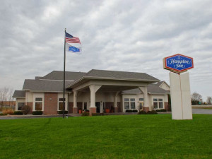 Exterior view of Hampton Inn Birch Run/Frankenmuth.