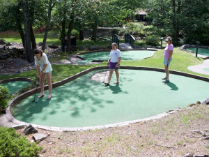Mini golf at Split Rock Resort & Golf Club.