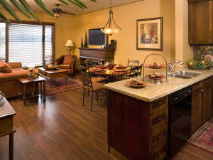 Spacious accommodations at Lake Okanagan Resort