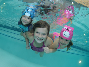 Swimming at Olympia Resort.
