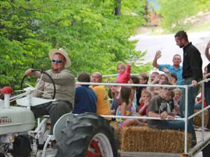 Hay Rides at Benjamin's Beaver Creek Resort