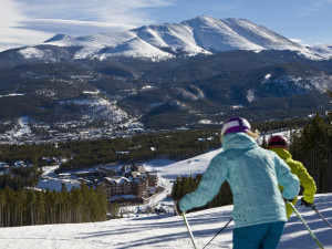 Skiing at One Ski Hill Place.