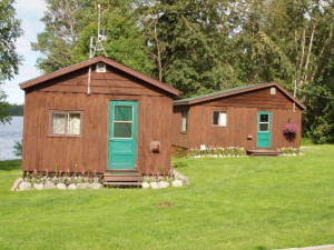 Cabin Exterior at Silver Water Wheel Lodge
