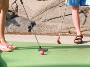 Mini golf at Cedar Point Resort.