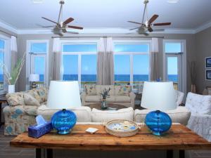 Rental living room at Fort Morgan Realty.