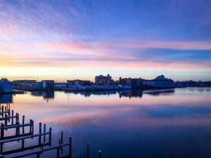 Sunrise at Century 21 New Horizon.