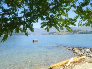 Lake Chelan at Watson's Harverene Resort.