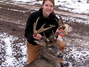 Deer hunting at Solbakken Resort.