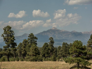 Mountain view at Pagosa Springs Accommodations.