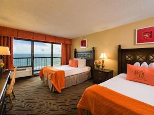Guest room at Westgate Myrtle Beach.