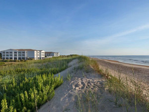 The beach at Hampton Inn & Suites Outer Banks/Corolla.