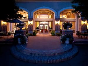 Exterior view of Cypress Bend Resort.