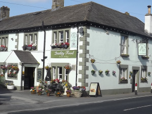 Exterior view of Boars Head Hotel.
