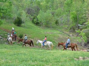 Trail Rides at Horseshoe Canyon Ranch