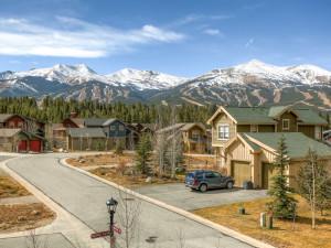 Vacation rental exterior at Summit Mountain Rentals.