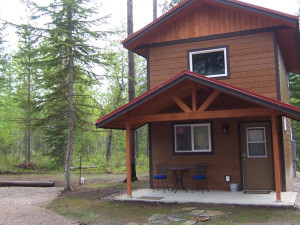 Cabin Exterior at Historic Tamarack Lodge and Cabins