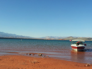 Lake Powell near Best Western Coral Hills.
