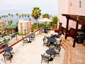Patio at La Jolla Inn.