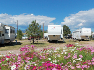 Campground at Colorado Springs KOA.