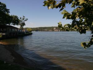 Lake view at Lakeview Resort.