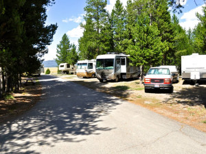 RV resort at Sawtelle Mountain Resort.