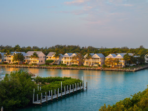 Exterior view of Hawks Cay Resort.