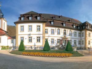 Exterior view of Kur & Schlosshotel Neuhaus.