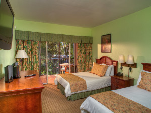 Guest room at Chesapeake Beach Resort.