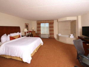King Whirlpool Suite at Hilton Garden Inn Myrtle Beach
