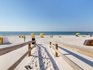 Beach view at Perdido Key Resort Management.