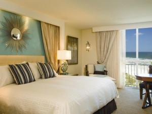 Guest room at One Ocean Resort & Spa.